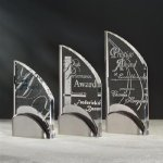 Wave Marble Acrylic Awards