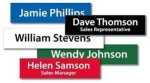 Plastic Nameplates Name Badges | Plates